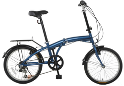 "Vilano Tempest 20"" Folding 6-Speed Bike for $150 + free shipping"