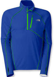 The North Face Men's Impulse Active Quarter-Zip Shirt for $34 + $6 s&h