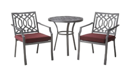 Threshold Harper 3-Piece Metal Patio Bistro Set for $190 + free shipping