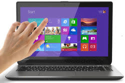 "Refurb Toshiba Haswell i5 1.6GHz 14"" Touch Laptop for $474 + free shipping"