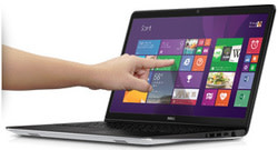 "Dell Inspiron 15 Haswell i5 1.7GHz 16"" Touch Laptop for $600 + free shipping"