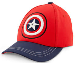 Boys' Captain America Hat for $4 + $5 s&h