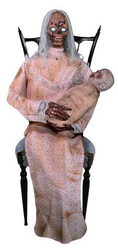 Gruesome Granny Animated Decoration for $127 + $13 s&h