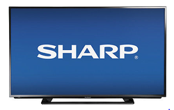 "Sharp 42"" 120Hz 1080p LED LCD HDTV for $350 + free shipping"