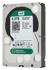 Western Digital 6TB SATA 6Gbps Internal Hard Drive for $250 + free shipping