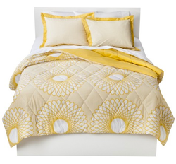 Room Essentials Karagraph Twin Comforter Set for $15 + free shipping