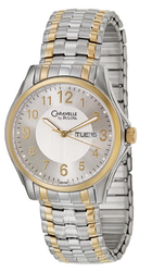 Caravelle Men's Expansion Watch for $35 + free shipping