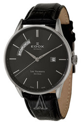 Edox Men's Les Vauberts Day Date Automatic Watch for $428 + free shipping
