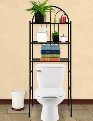 3-Level Metal Bathroom Space Saver for $25 + free shipping