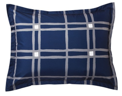 Room Essentials Plaid Reversible Sham for $3 + free shipping