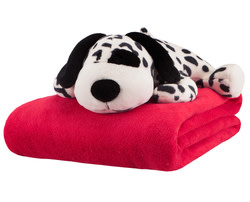 Mizone Kids Plush Throw & Stuffed Animal Set for $20 + $6 s&h