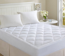Comfort Classics Microfiber Puffball Down Mattress Pads from $20 + $6 s&h