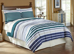 LivingQuarters Aeden Reversible Comforter for $25 + free shipping, padding
