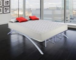 Eco-Lux Arch Support Queen Platform Bed Frame for $129 + $20 s&h