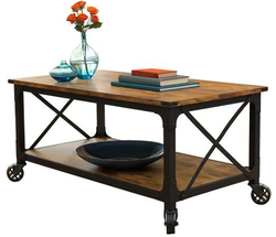 Better Homes & Garden Rustic Coffee Table for $99