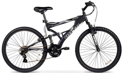 "Hyper Men's 26"" Dual-Suspension Mountain Bike $119"
