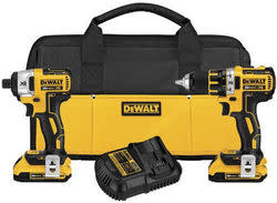 Refurb DeWalt 20V MAX 2-Tool Combo Kit for $140