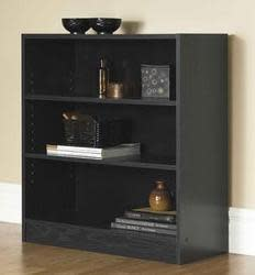 Mainstays Wide 3-Shelf Bookcase for $20
