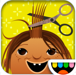 Toca Hair Salon for iPhone and iPad for free