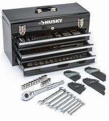 Husky Mechanics 200-Piece Tool Set $94