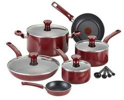 T-Fal 14pc Nonstick Cookware, $15 Kohl's Cash $39