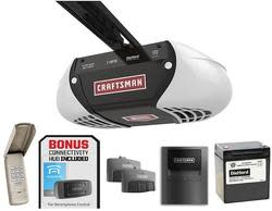 Craftsman 1-HPS Garage Door Opener Bundle for $190