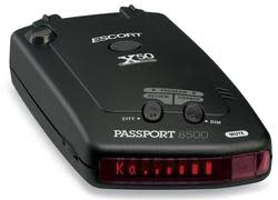Escort 8500 X50 Radar Detector for $140