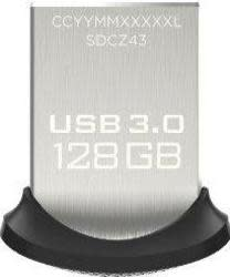 SanDisk 128GB Ultra Fit USB 3.0 Flash Drive $25