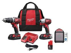 Milwaukee M18 18V 3-Tool Combo Kit for $169