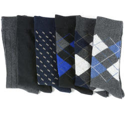 6 Pairs of Alpine Swiss Men's Dress Socks for $7