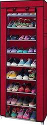 10-Tier Shoe Rack w/ Cover for $15
