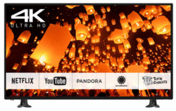 "Panasonic 50"" 4K WiFi LED LCD UHD Smart TV $400"