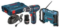 Bosch 12V Cordless 2-Tool Combo Kit for $130