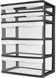 Sterilite 5-Drawer Wide Tower for $25