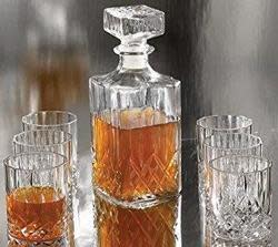 Style Setter 7-Piece Decanter Set for $15