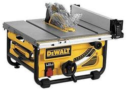 "DeWalt 15A 10"" Compact Job-Site Table Saw for $289"