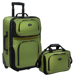 2-pc luggage set