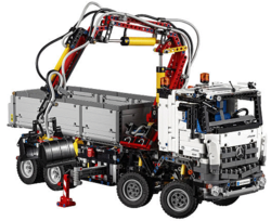 LEGO Technic Mercedes-Benz Arocs Kit for $171