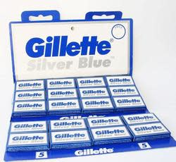 Gillette Silver Blue Razor Blades 100-Pack for $14
