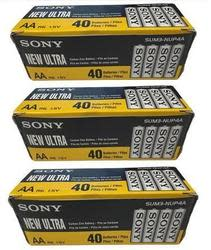 Sony Heavy Duty Zinc AA Battery 120-Pack for $25