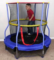 "Skywalker 55"" Bounce-N-Learn Trampoline for $39"