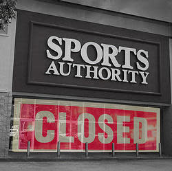 Sports Authority Store Closing Sales Are Here