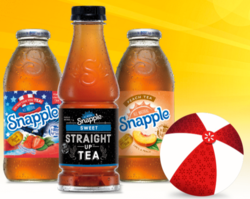 Snapple drinks
