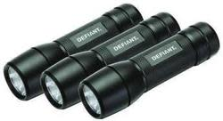 Defiant LED Flashlight 3-Pack for $10