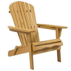 Adirondack Foldable Wood Chair for $40