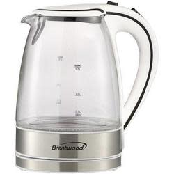 Brentwood 1.7-Liter Glass Electric Kettle for $24