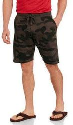Men's Camo Print Knit Jogger Shorts for $7