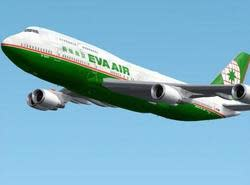 EVA Air Fares to Asia from $513 roundtrip