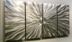 4-Panel Abstract Wall Art by Jon Allen for $145