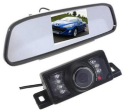"AGPtek Rear View Camera w/ 4.3"" Monitor for $38"
